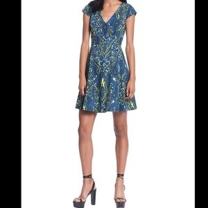 Plenty Dresses Tracy Reese Fit Flare Paisley Dress